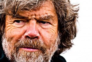 Messner close up